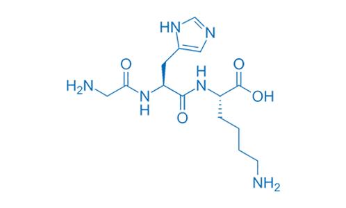 GHK Cu Estructura Quimica