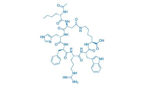 PT-141 Estructura Quimica